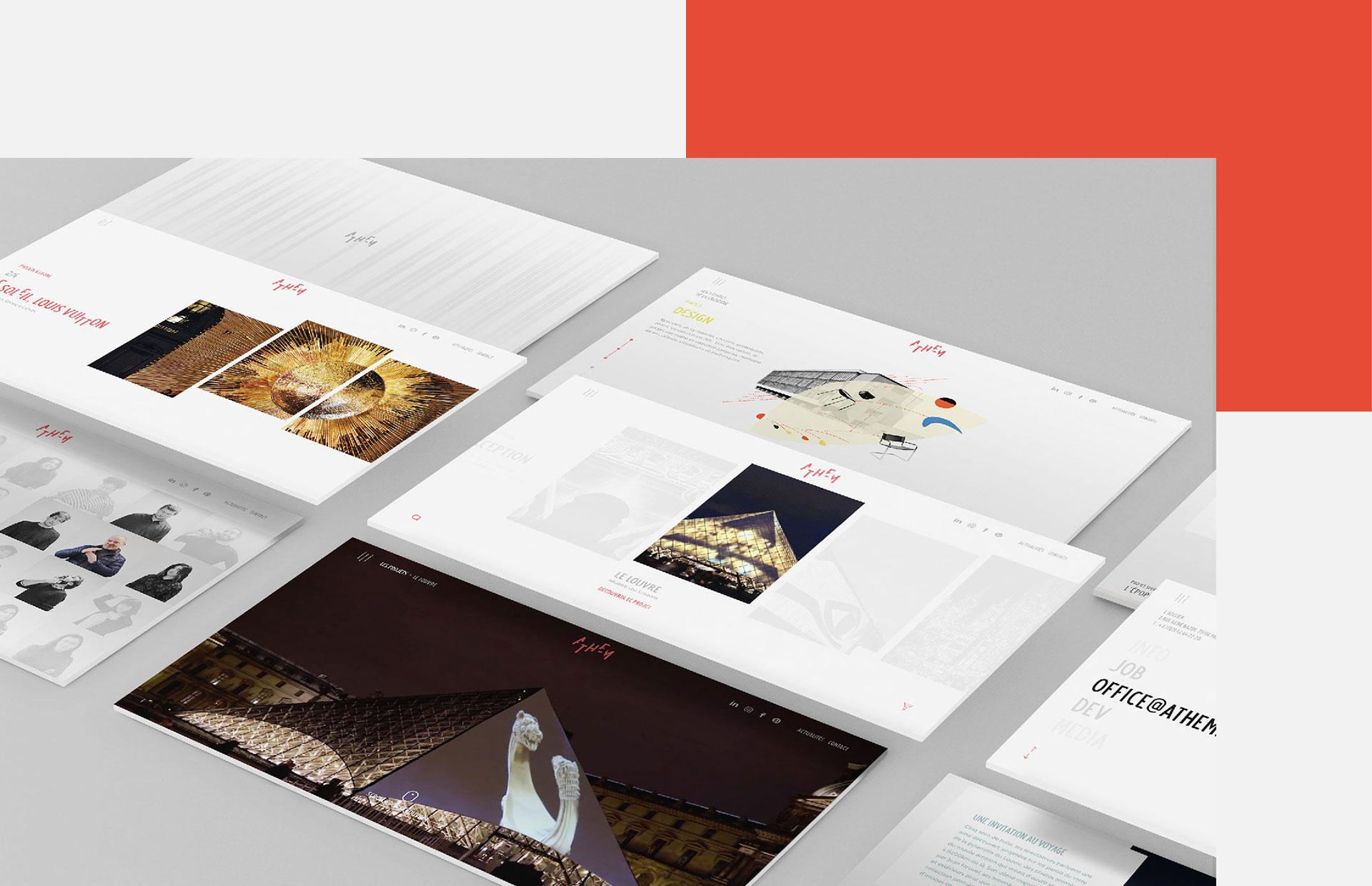 Athem Epok Design responsive website awwwards