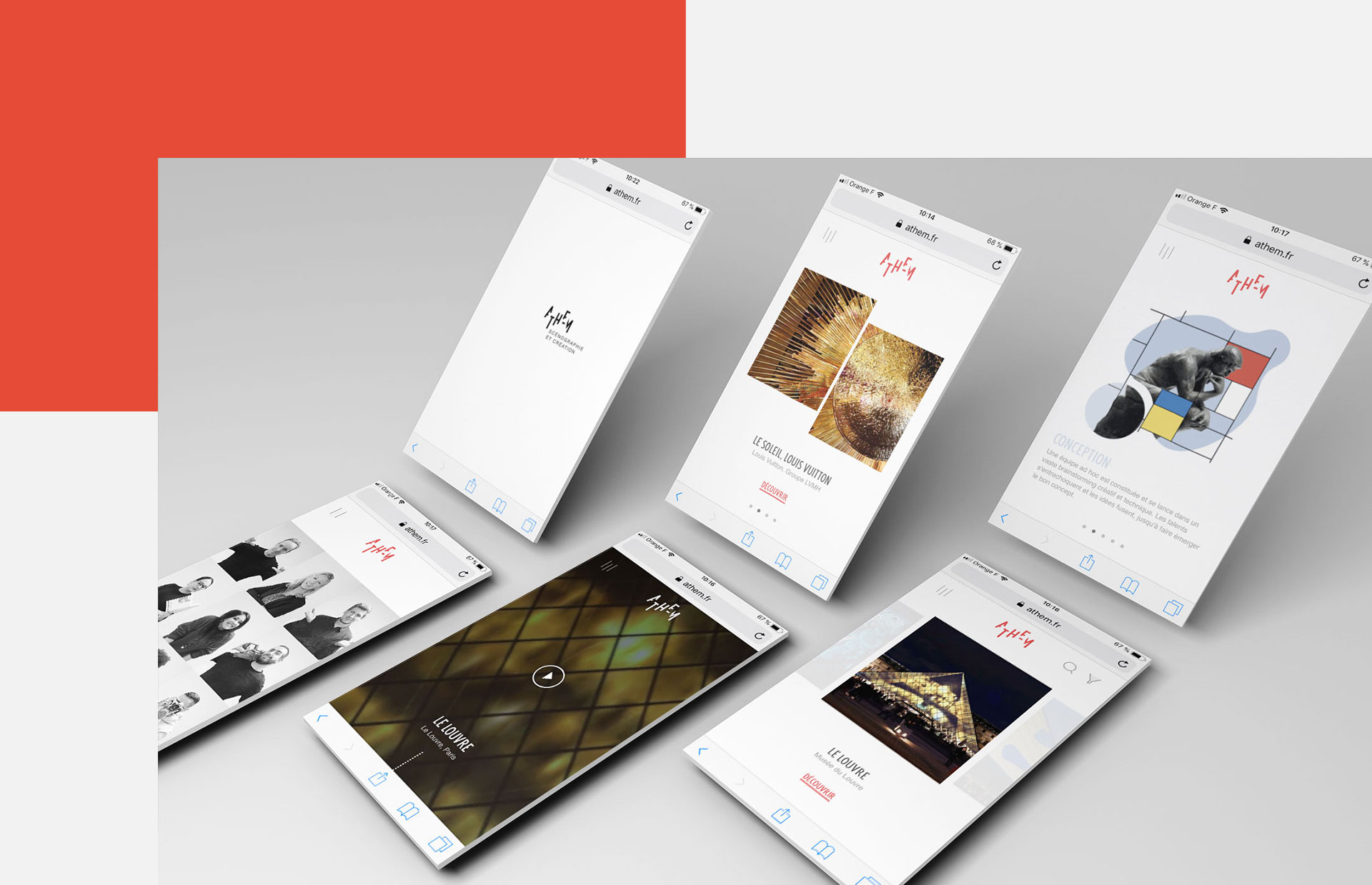 Site mobile Athem