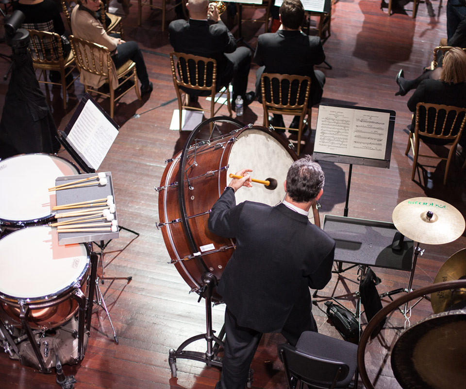 Orchestre colonne epok design charte graphique