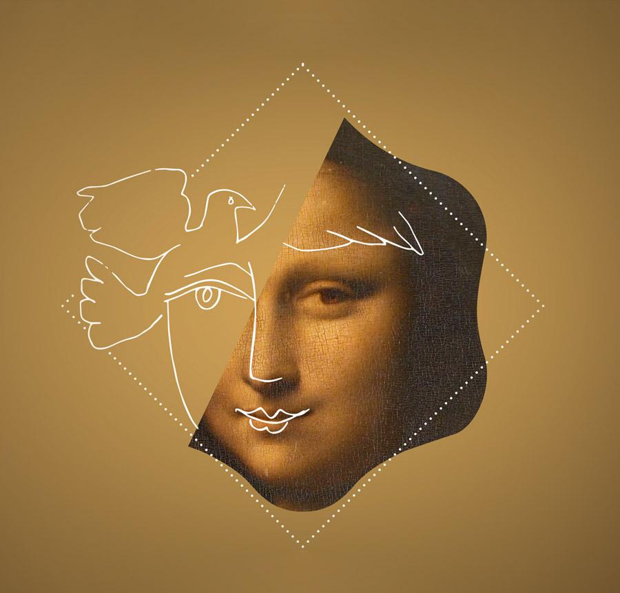 charte graphique histoire de l'art au grand palais