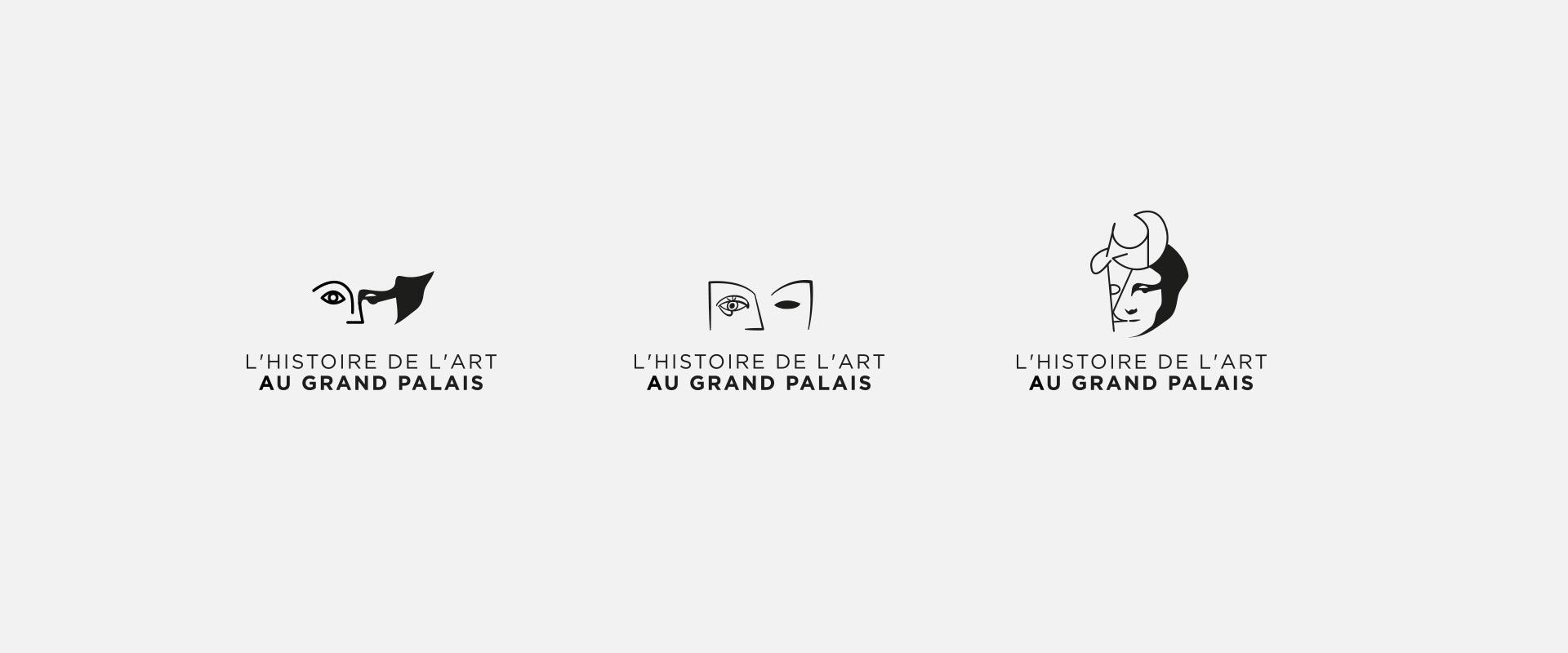 logo histoire de l'art au grand palais