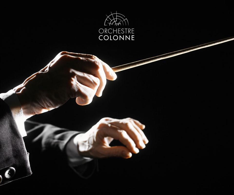 charte graphique orchestre colonne